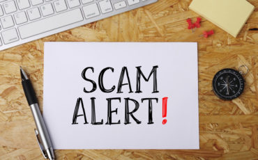 Warning about tax scams