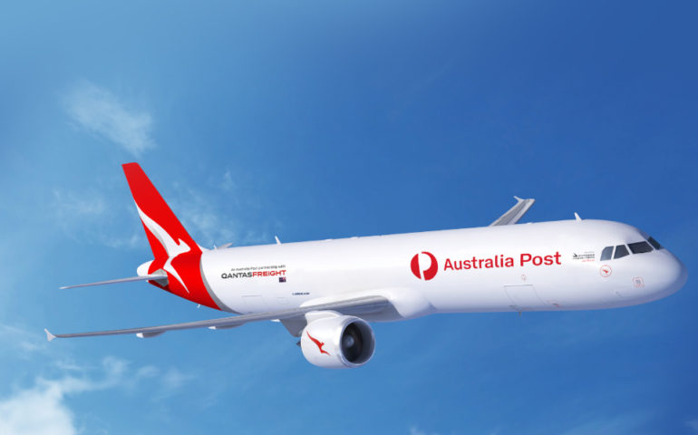 Australia Post and Qantas Freight renew agreement to support